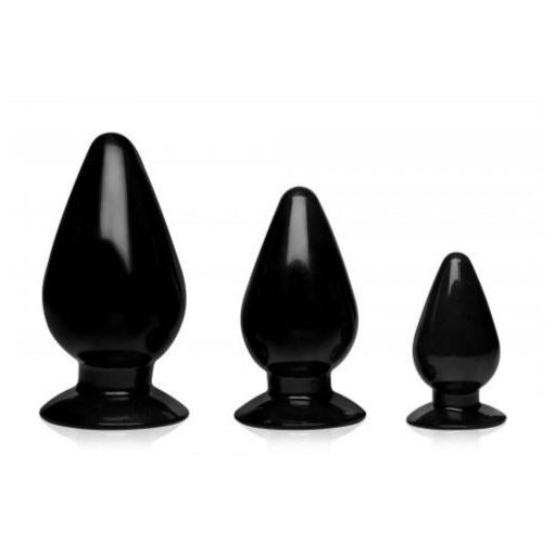 Triple Cones 3-teiliges Analplug-Set
